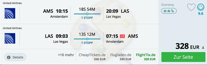 Kalifornia a Las Vegas z Amsterdam od 328€