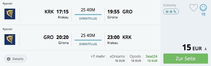 Z Krakowa do Barcelony už od 15€ aj počas Vianoc