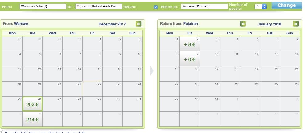 Na Nový rok do Emirátov už za 210€