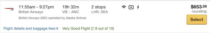 Z Viedne na Aljašku už za 551€!