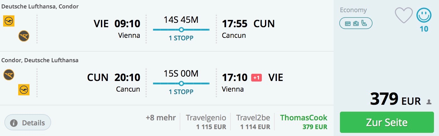 Last minute do Cancunu za 379€