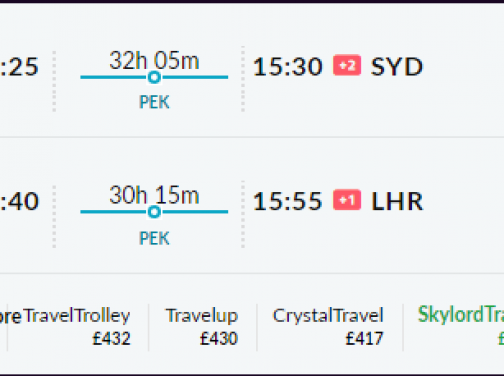 Londýn – Sydney aj cez vianoce od 466€