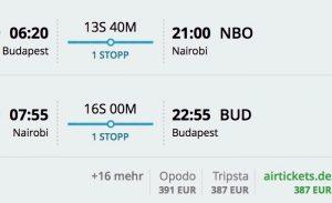 Na safari do Kene z Budapešti od 387€