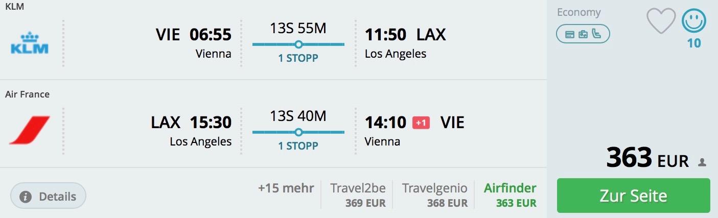 Slnečné Los Angeles s odletom z Viedne od 363€