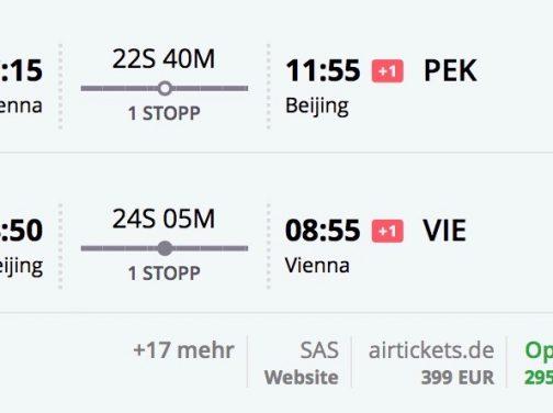 Peking z Viedne od skvelých 295€