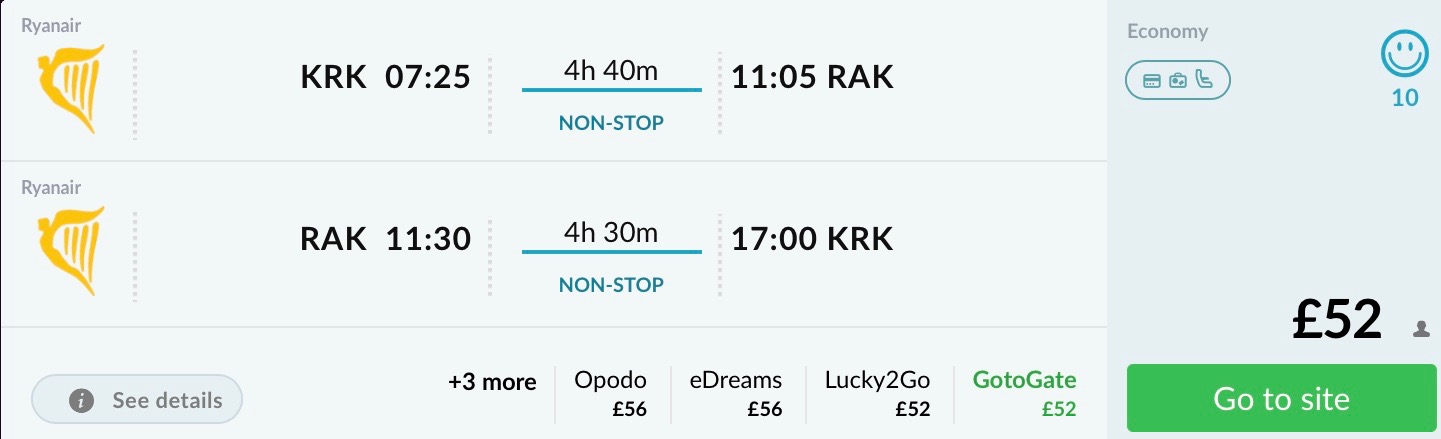 Maroko: Marrakesh z Krakova od 60€