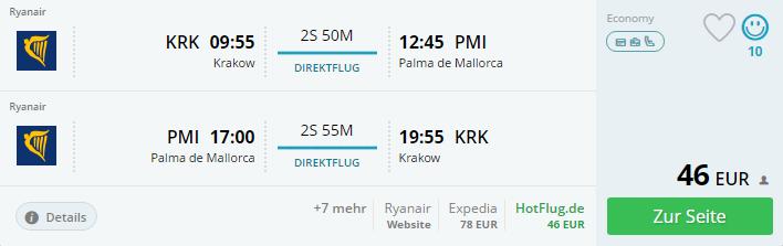 Jarná Malorka s odletom z Krakowa od 46€
