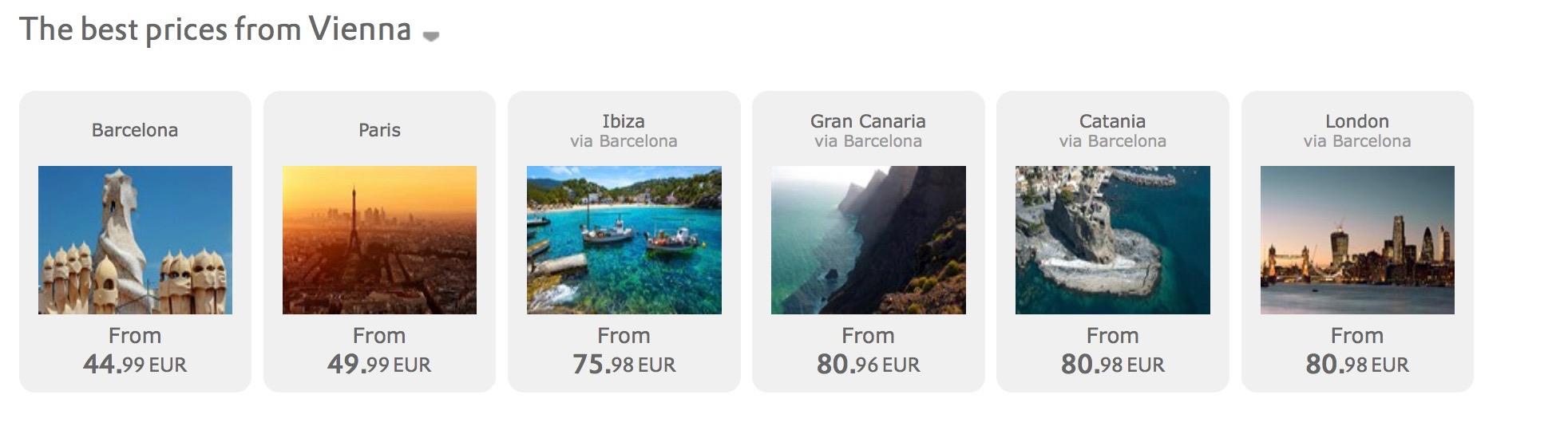 Jarný výpredaj Vueling: 1.000.000 leteniek od 19,99€