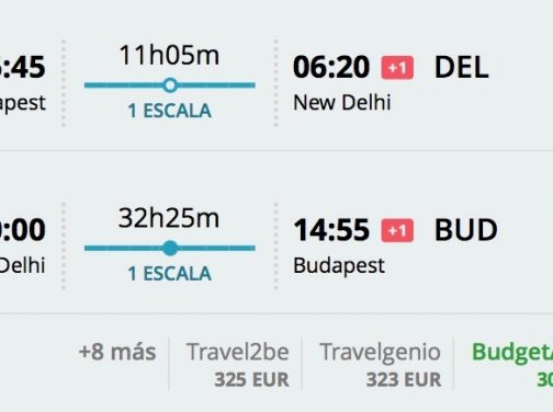 India: Dillí s odletom z Budapešti už od 306€
