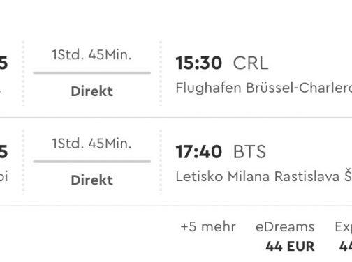 Z Bratislavy do New Yorku so zastávkou v Brusseli od skvelých 310€