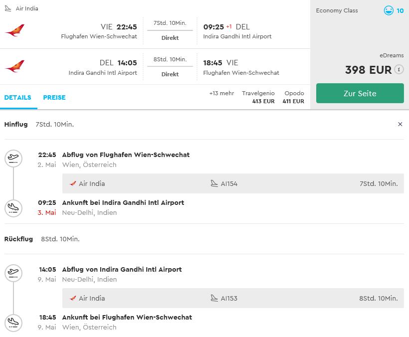 India: priamy let Viedeň – Dillí už od 398€