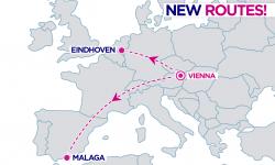 Novinka Wizz Air: 2 nové linky z Viedne