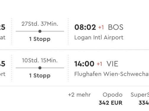 Viedeň – Boston už od skvelých 316€