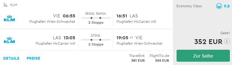 Viedeň – Las Vegas už od 352€