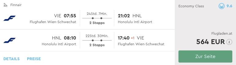 Havaj z Viedne za úžasných 556€