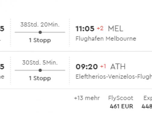 Austrália: Melbourne s odletom z Atén už za úžasných 432€