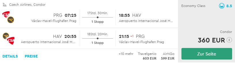 Kuba: z Prahy do Havany už za 360€