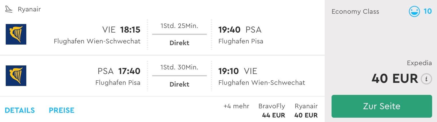 Toskánsko: Pisa s odletom z Viedne aj v lete za skvelých 40€