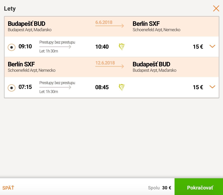 Z Budapešti do Berlína už za výborných 30€