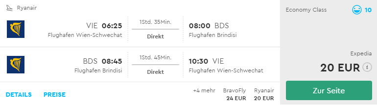 TOP: Talianske Brindisi a španielska Mallorca ešte lacnejšie! Letenky z Viedne už za neuveriteľných 20€ resp. 30€