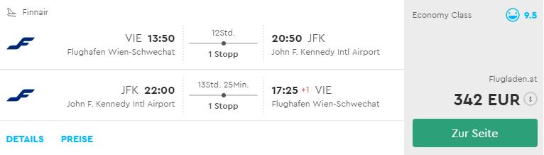 New York s odletom z Viedne už od skvelých 340€