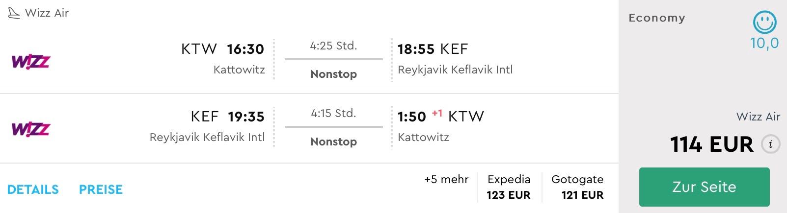 Island v lete (odlet z Katowíc) už od skvelých 114€