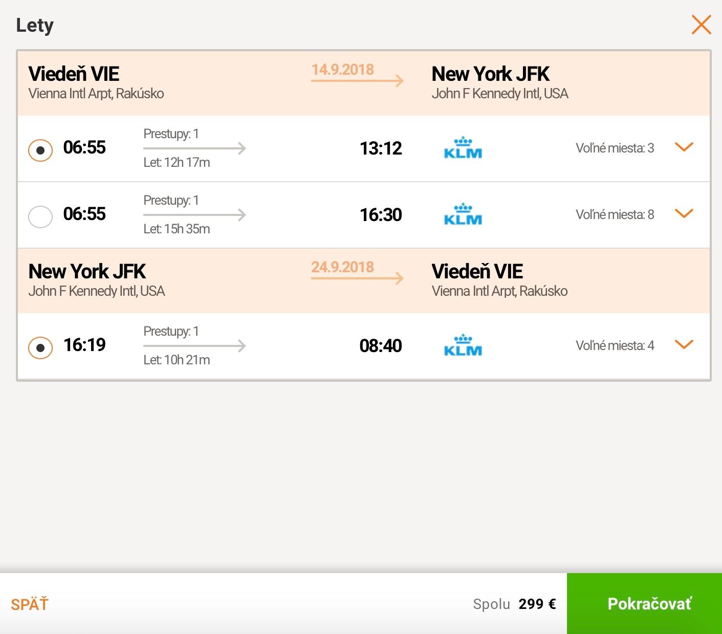 TOP: Viedeň – New York za skvelých 299€