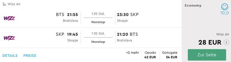 Macedónsko: Skopje s odletom z Bratislavy aj v lete už od 28€
