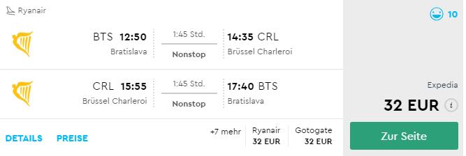 Na predĺžený víkend do Bruselu s odletom z Bratislavy už od výborných 32€