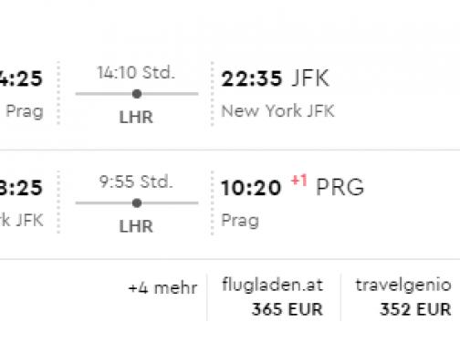 Na vianoce do New Yorku z Prahy už od skvelých 351€