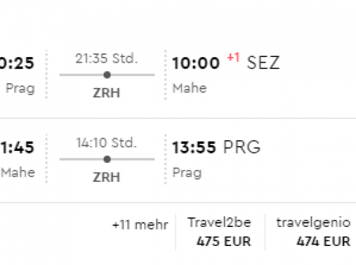 Exotické Seychelly s odletom z Prahy už od výborných 473€