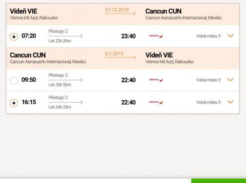 Mexiko: Cancun s odletom z Viedne za 491€ (termíny aj na vianoce a Silvestra)