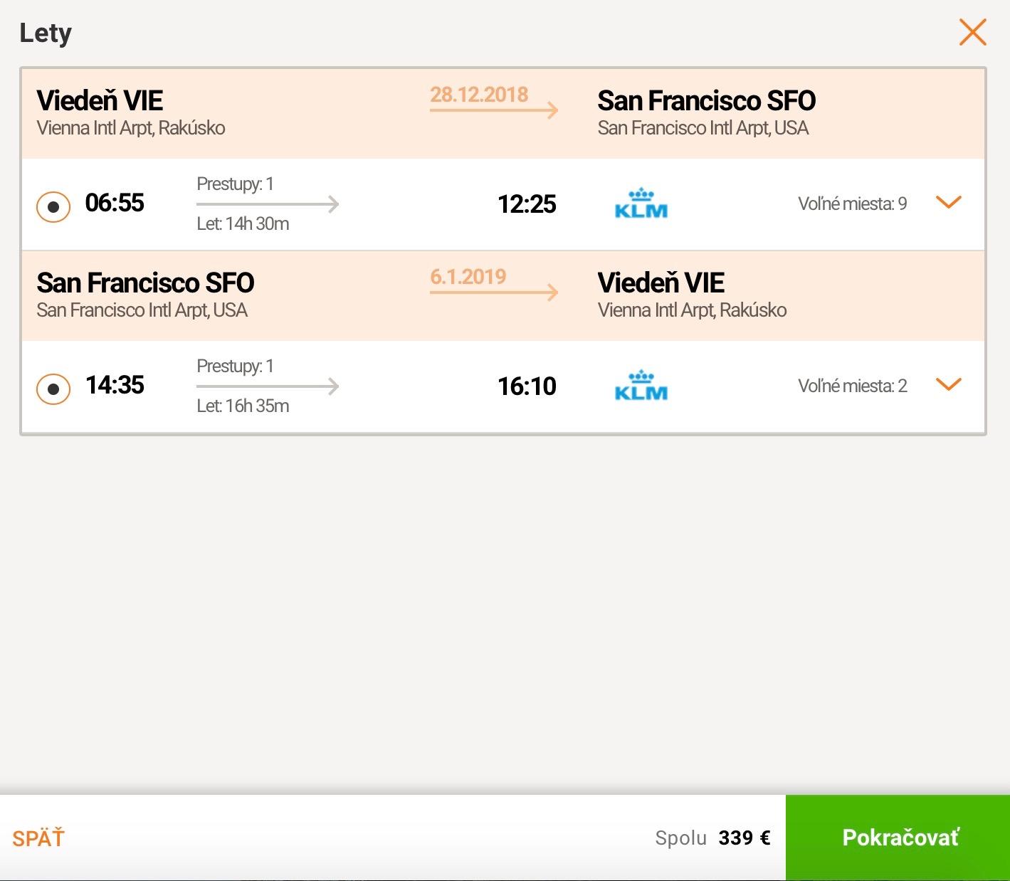 San Francisco s odletom z Viedne za skvelých 339€ (termíny aj na vianoce a nový rok)