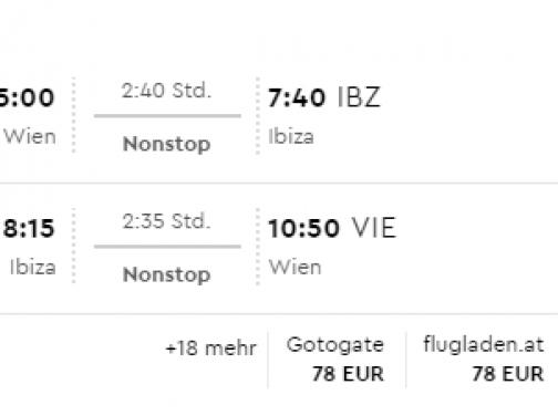V lete na Ibizu za príjemných 70€ (odlet z Viedne)