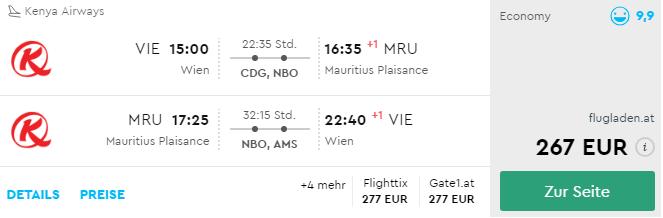 MEGA PONUKA: Maurícius z Viedne za neuveriteľných 267€