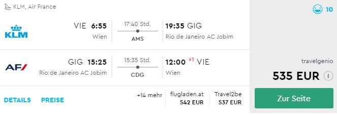 Brazília: Rio De Janeiro s odletom z Viedne od 535€