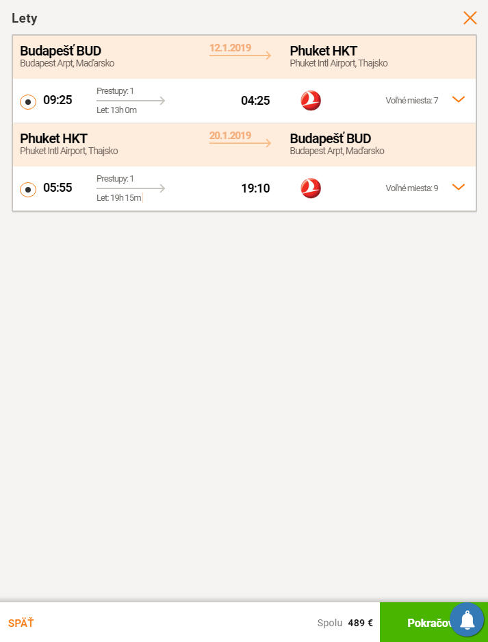 Thajský Phuket v TOP sezóne s TOP aerolinkou za výborných 489€ (odlet z Budapešti)