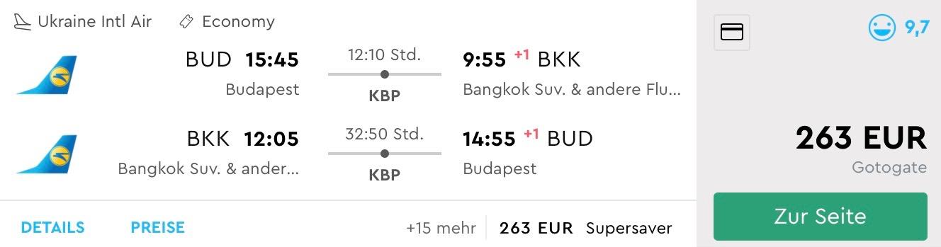 Thajsko: do Bangkoku z Budapešti od fantastických 263€