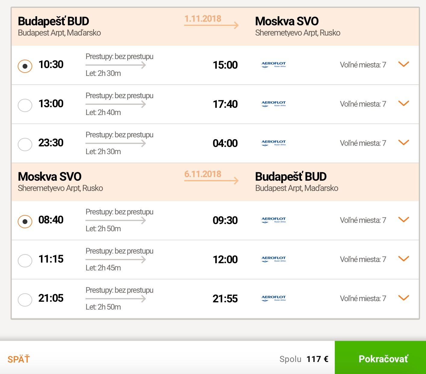 Za pravou ruskou zimou do Moskvy z Budapešti za 117€
