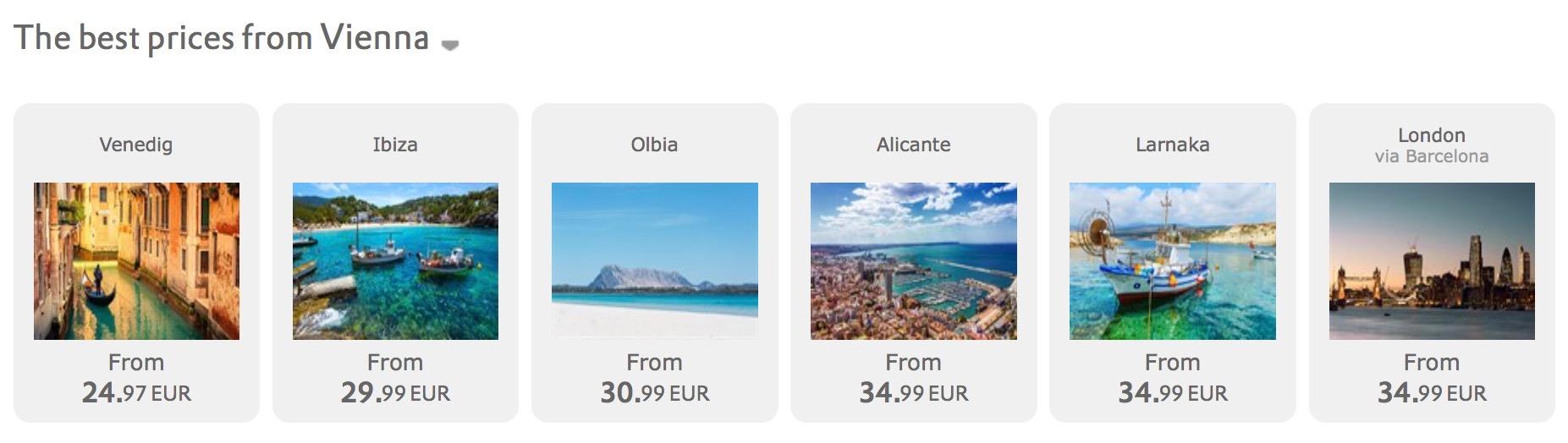 Výpredaj Vueling: 1.000.000 leteniek už od 19,99€ jednosmerne