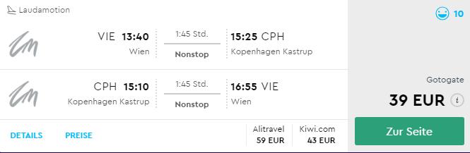 Z Viedne do Kodane na predĺžený víkend už od skvelých 39€