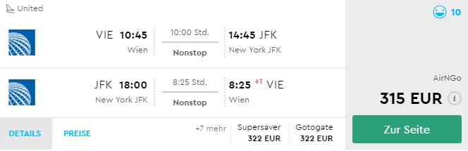 Priamy let z Viedne do New Yorku od neuveriteľných 315€ (termíny aj na vianoce, Silvestra aj Veľkú noc)