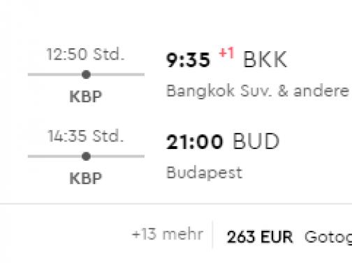 SUPER PONUKA: Thajský Bangkok s odletom z Budapešti za fantastických 262€