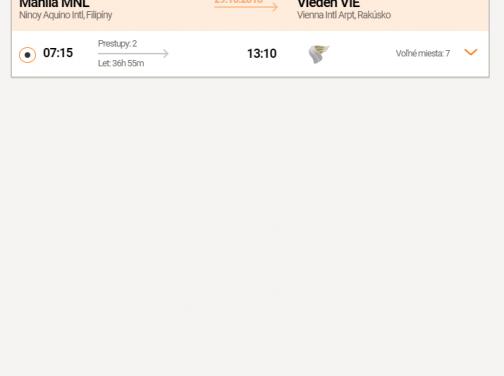 FILIPÍNY: Z Prahy do Manily a naspäť do Viedne za skvelých 399€