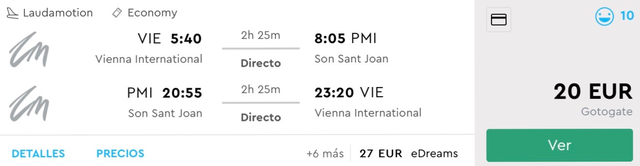Neskoršia letná dovolenka na Mallorce za parádnych 20€ (odlet z Viedne)