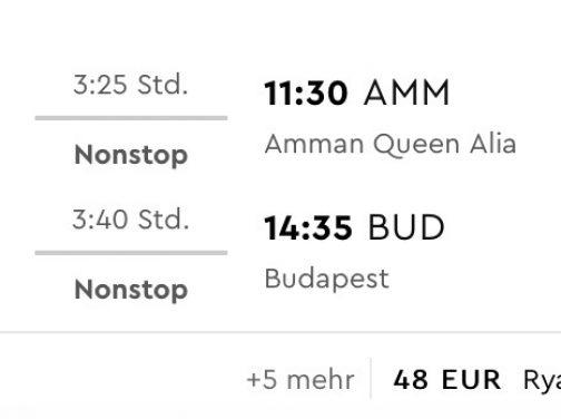 Jordánsko: Ammán s odletom z Budapešti už od fantastických 48€ (termíny aj na vianoce)