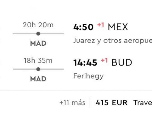Mexico City s odletom z Budapešti už od fantastických 414€ (23kg batožina v cene!)