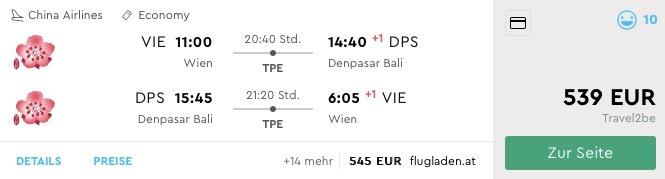 TOP PONUKA: Bali s odletom z Viedne už od výborných 539€ (30kg batožina v cene!)