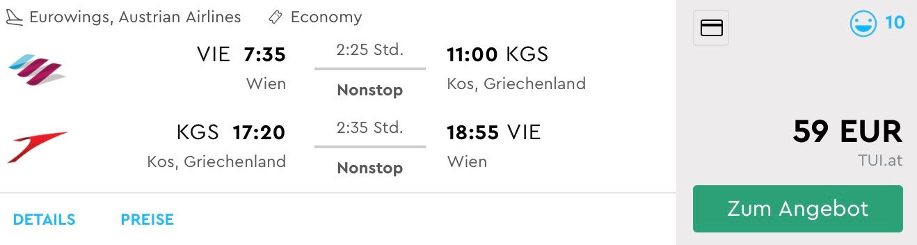 Last Minute letenka na neskoršiu letnú dovolenku na ostrove Kos za výborných 59€ (odlet z Viedne)
