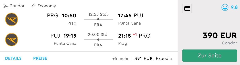 Last Minute letenka do Karibiku: z Prahy do Punta Cana (Dominikánska repubilka) za skvelých 390€